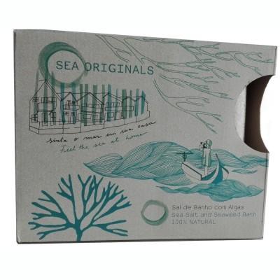 Kit de Talassoterapia com algas