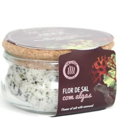 Flor de Sal com Mistura de Algas, 150g