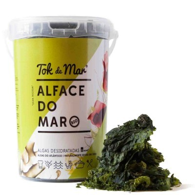 Alface-do-mar desidratada, 100g