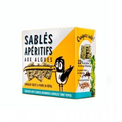 Crackers  com algas, 80g
