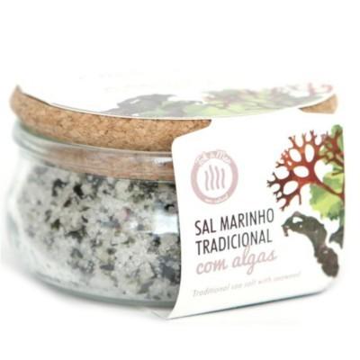Sal Marinho com Mistura de Algas, 150g