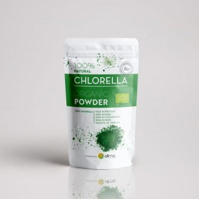 Chlorella em pó, 100g
