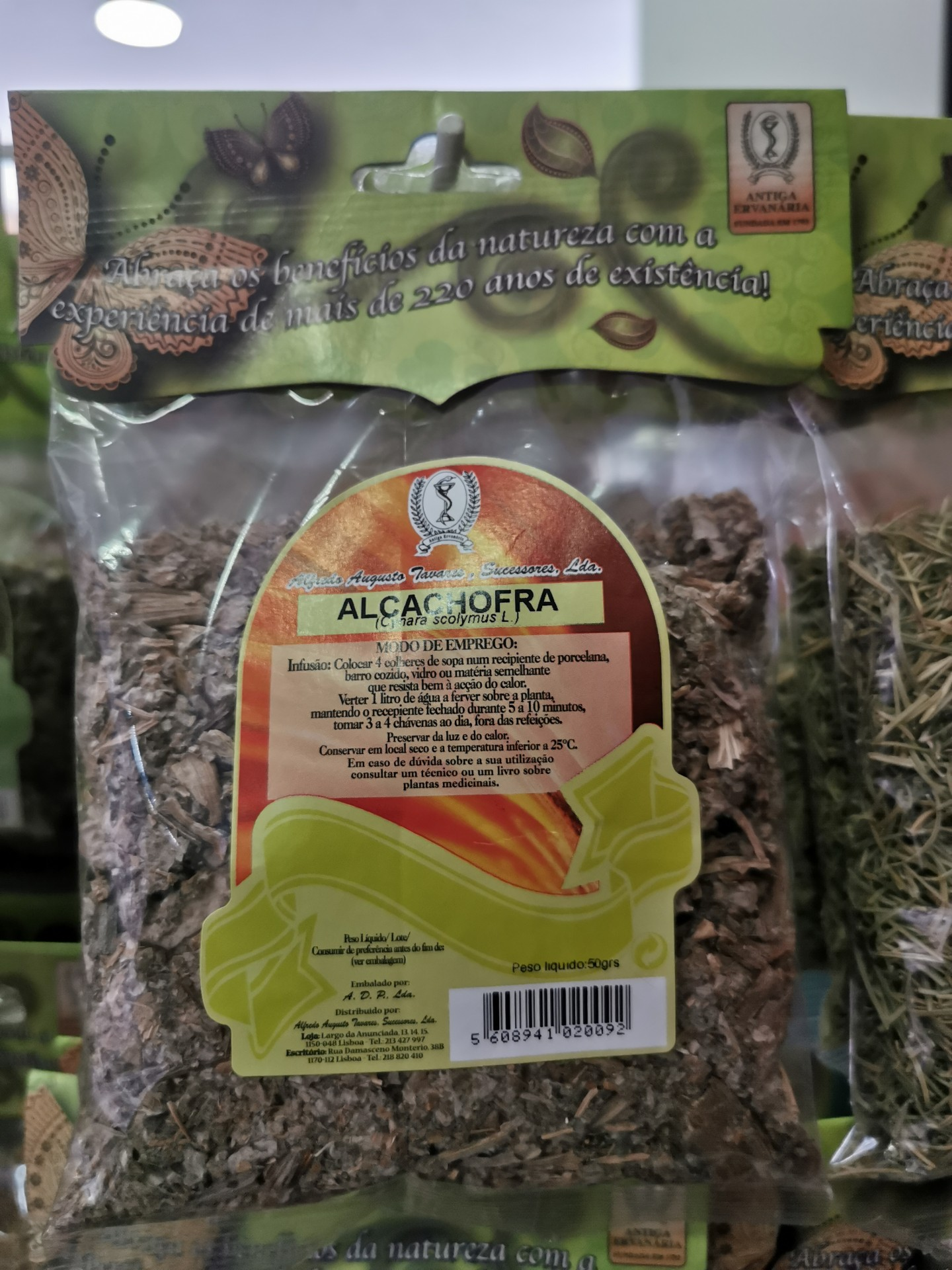 Alcachofra Planta 50 g