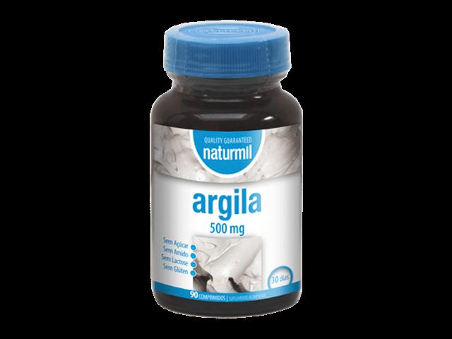 Argila 500mg 90 comprimidos