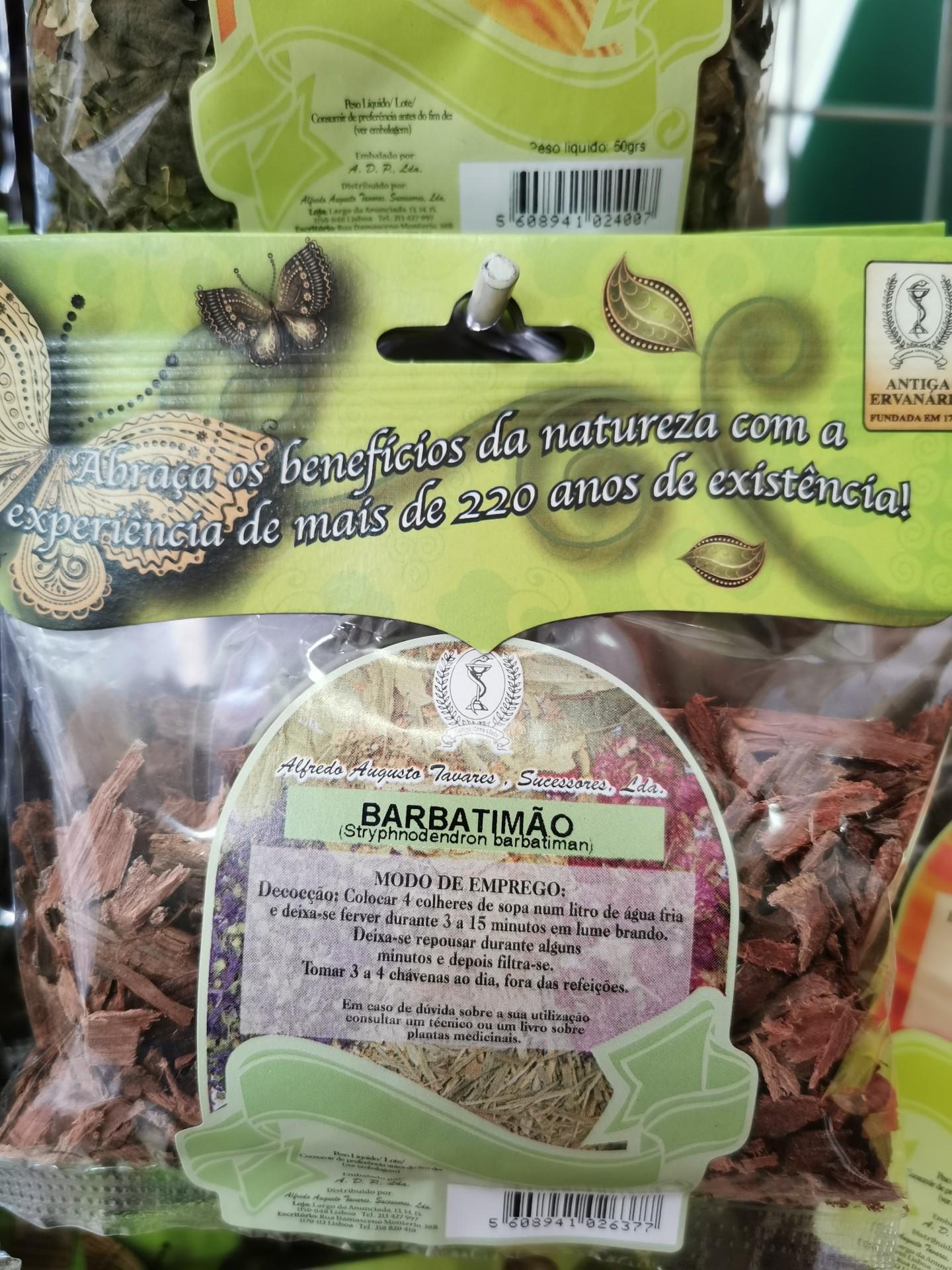 Barbatimão Casca 50 g