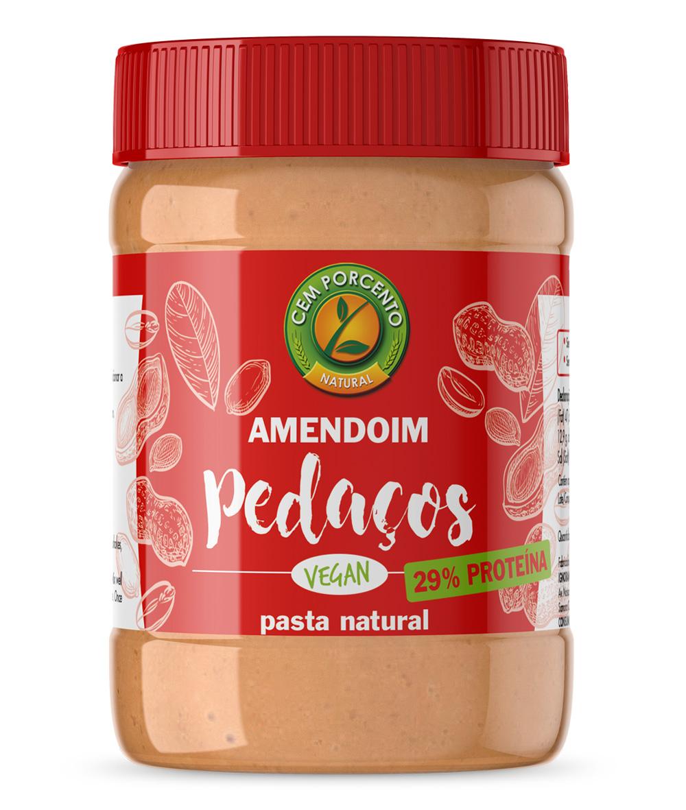 Manteiga de  Amendoim Pedaços  510gr