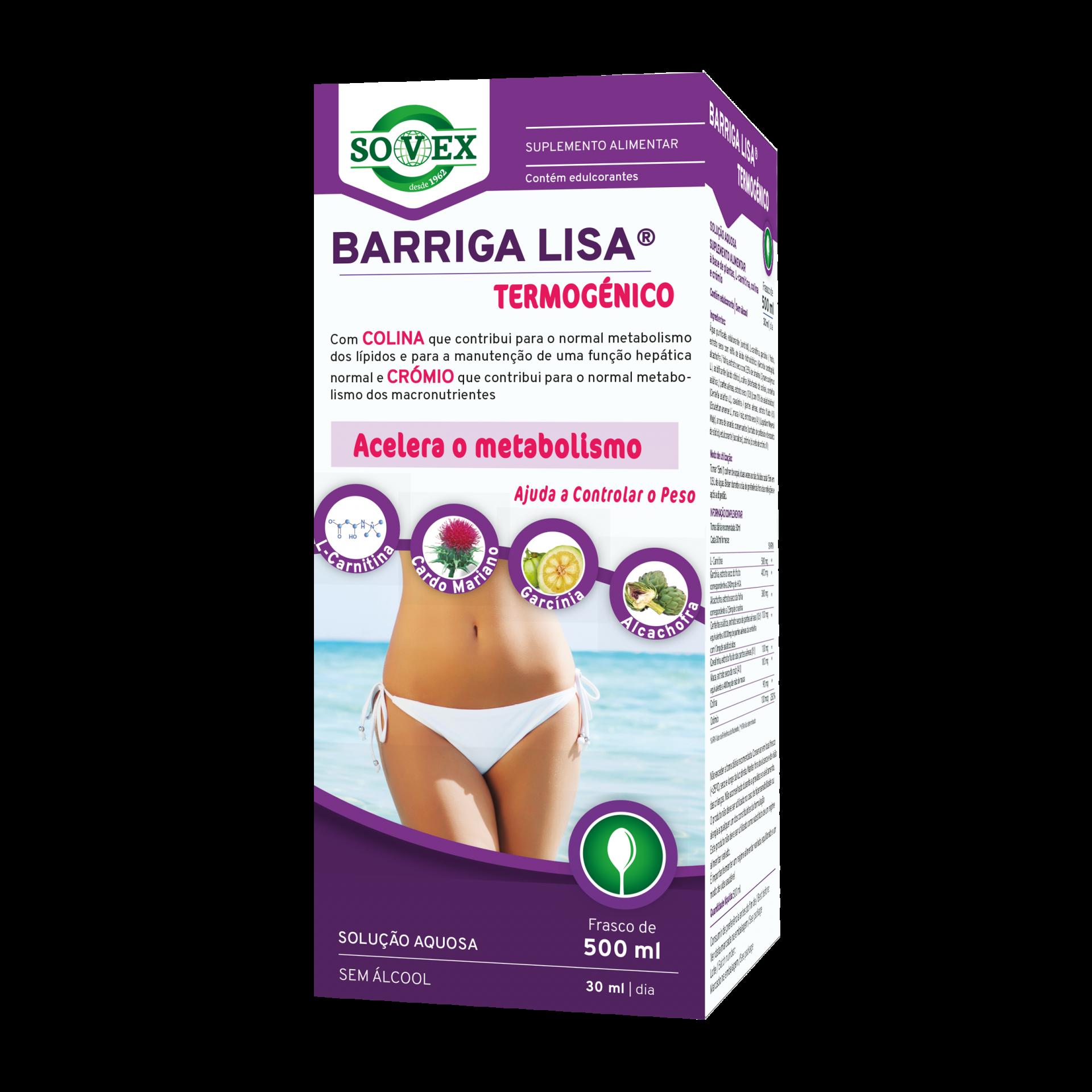 Barriga Lisa® Termogénico