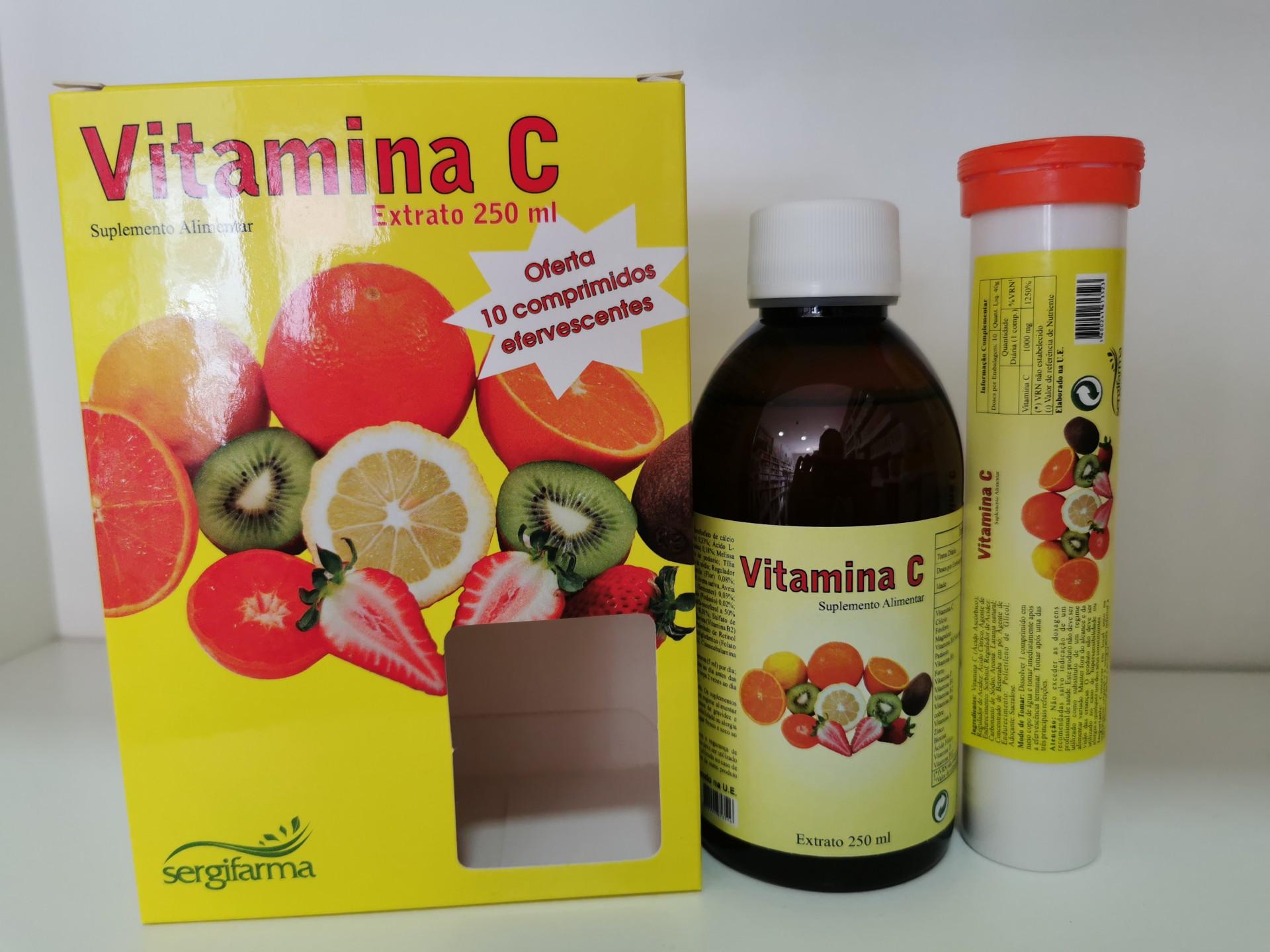 Vitamina C extrato