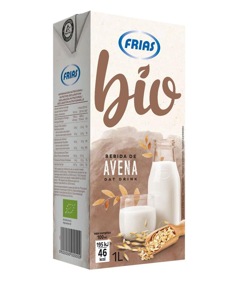 Bebida de Aveia Bio 1l