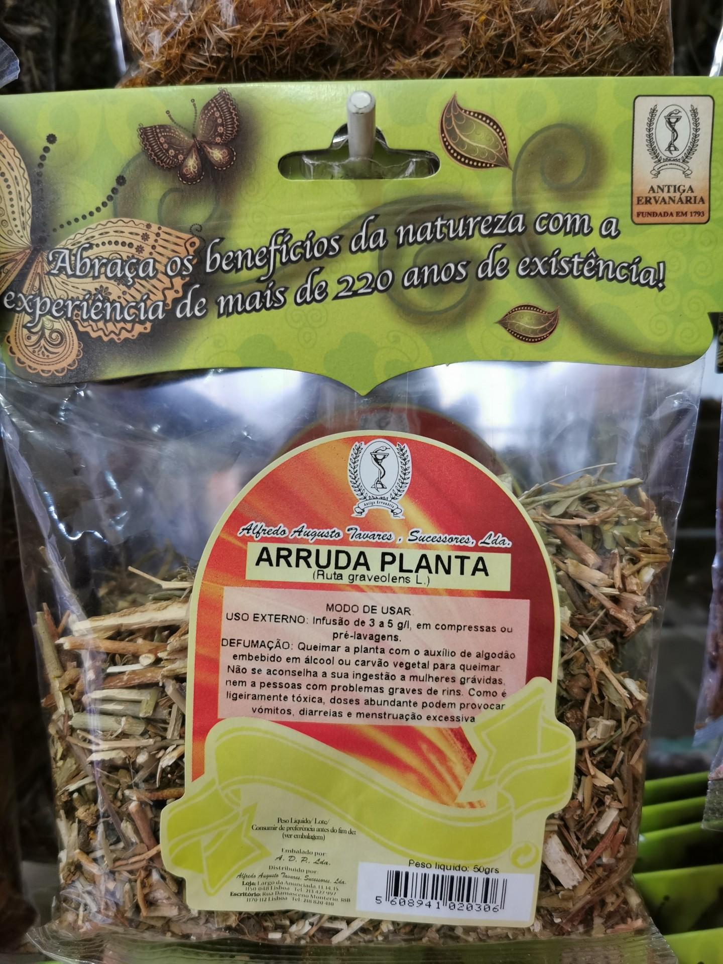 Arruda planta 50 gr