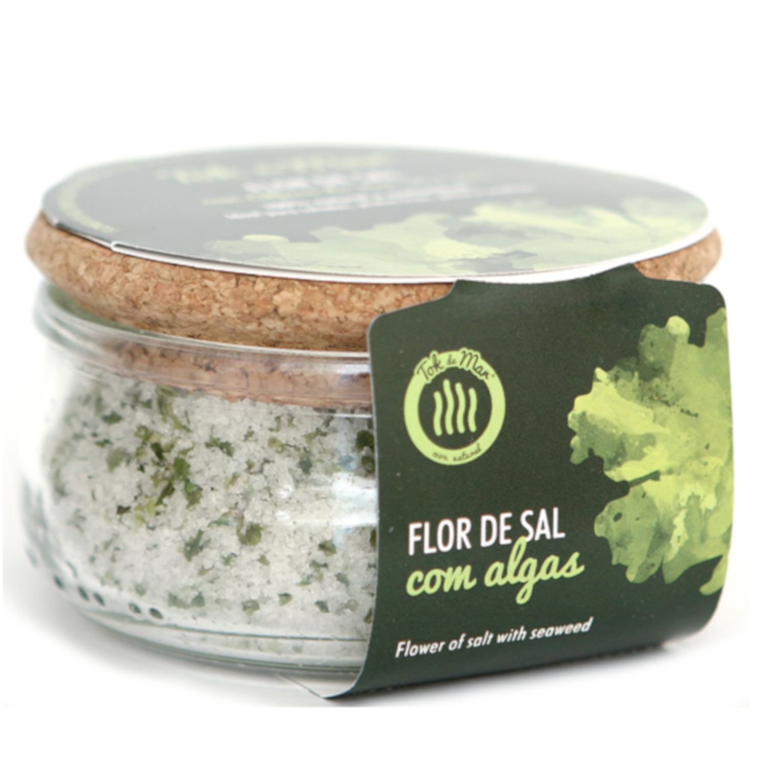 Flor de sal com alface-do-mar 150G