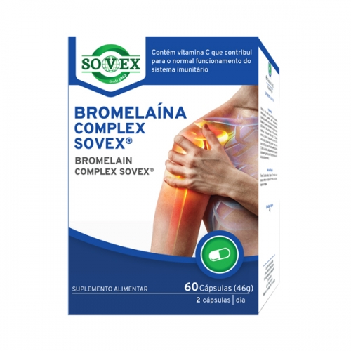 Bromelaína Complex Sovex®