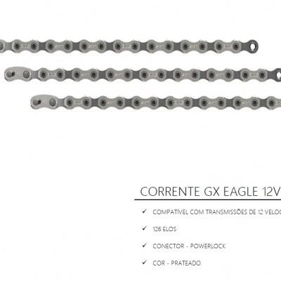 Corrente Sram GX Eagle 12V