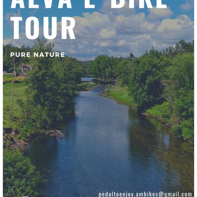 Alva E-Bike Tour - Pack 2 Pessoas