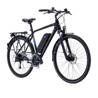 Kross Trans hybrid Black-Blue 28