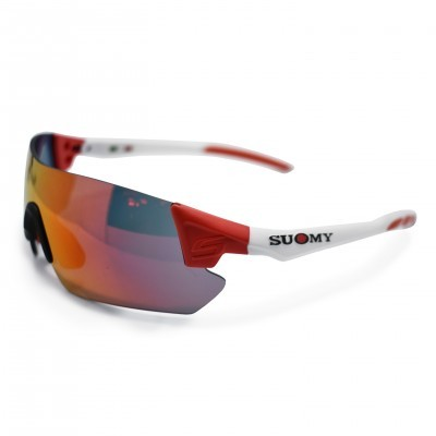 Oculos Suomy Sanremo White/Red