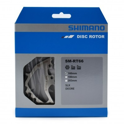 Disco de Travão Shimano SLX RT66 160MM
