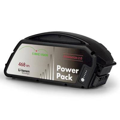 Bateria E-Bike Vision compatível com Bosch Classic (quadro), 468Wh
