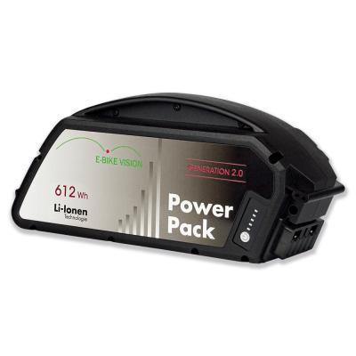 Bateria E-Bike Vision compatível com Bosch Classic (quadro), 612Wh