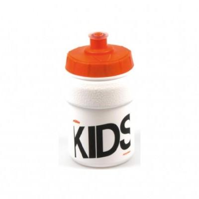 Bidon KTM Kid 300Ml Branco/Laranja