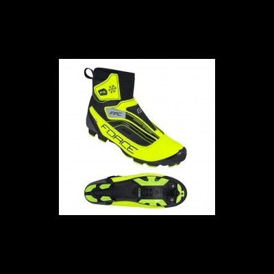 Sapato inverno FORCE ICE BTT, fluo