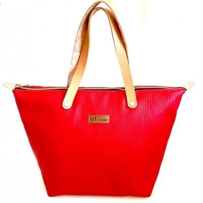 Mala saco vermelho scarlet