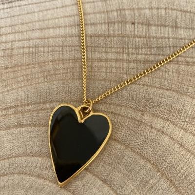 Fio dourado Black Heart