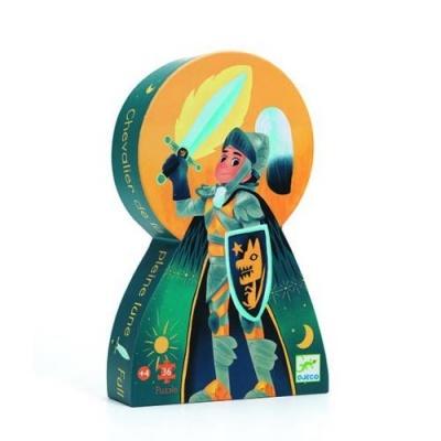 Djeco puzzle cavaleiro Lua cheia