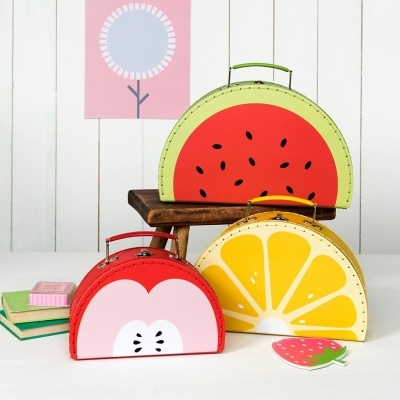 Malas de cartão Fruity