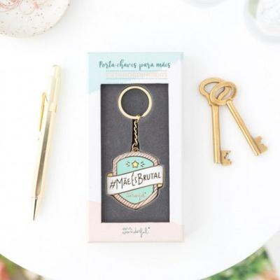 "Mr .Wonderful porta chaves ""Mãe és Brutal"""