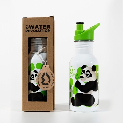 Garrafa Aço inox. Panda