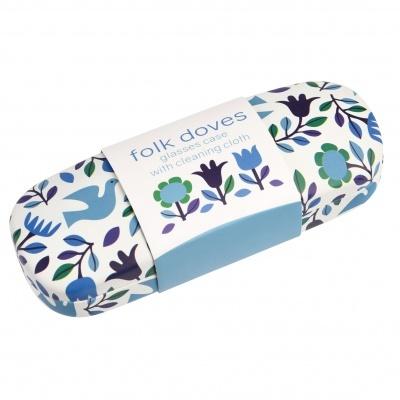 Folk Doves porta óculos