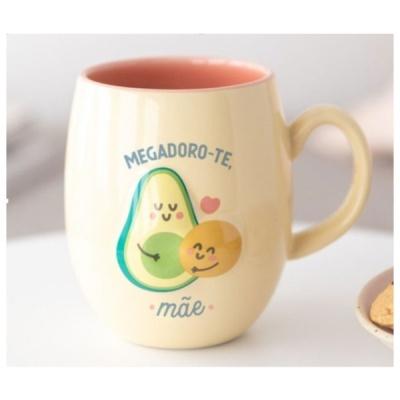 "Mr. Wonderful  Caneca  ""Megadoro-te mãe"""