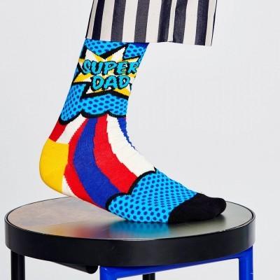 Happy Socks Meias Super Dad 41-46