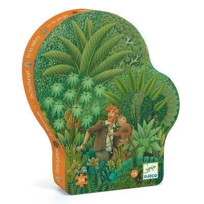 Djeco puzzle Na selva