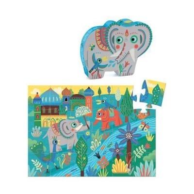 Djeco puzzle Haathee elefante