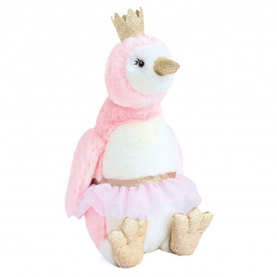 DouDou  Pinguim  Pingloo  rosa 50cm