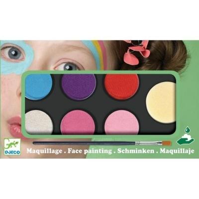 Djeco Paleta pintura facial v/cores