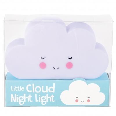 Luz noturna Nuvem feliz