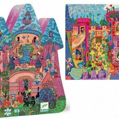 Djeco puzzle castelo das fadas