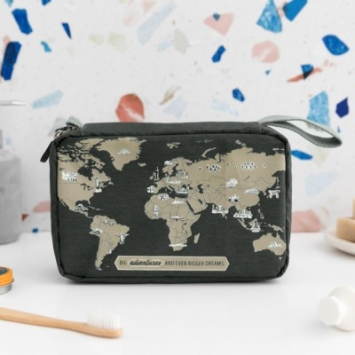 Mr .Wonderful necessaire THE WORLD IS WAITING FOR YOU