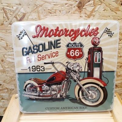 Caixa de metal  moto