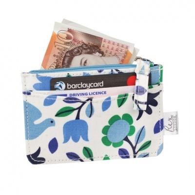 Folk Doves  carteira porta cartões