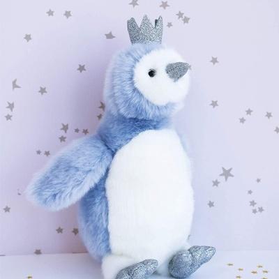 DouDou  Pinguim  Pingloo Azul 30cm