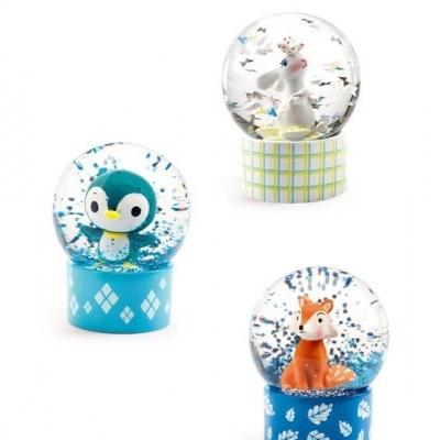 Mini globo de neve animais