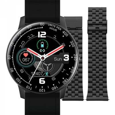 SMARTWATCH TIMES SQUARE BLACK