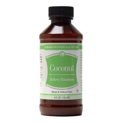 Emulsão de Pastelaria, sabor a Côco, 118,3ml - Lorann