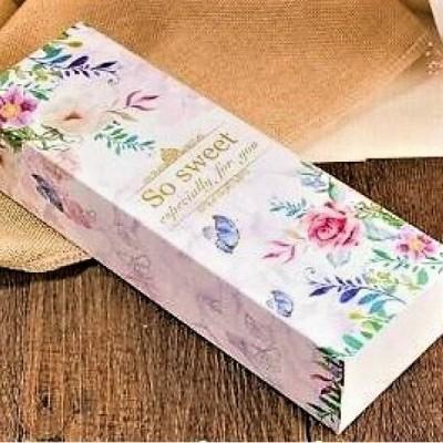 Caixa de Cartão Decorada - So sweet