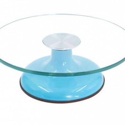 Bailarina em Vidro temperado e ABS - Azul