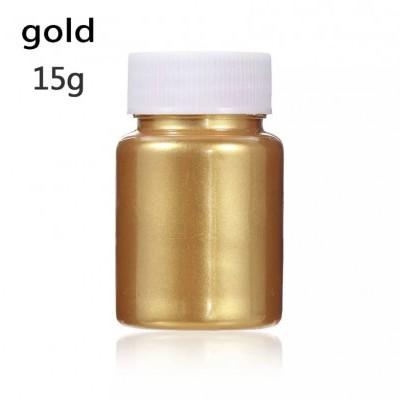 Corante Alimentar em Pó Metalizado - Dourado, 15g